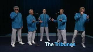 Download The Tribunes perform acappella on Ed Saleks Island Hop Video