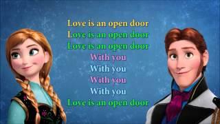 Download Love is an open door karaoke Video