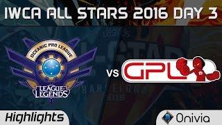 Download OPL vs GPL 1 vs 1 Highlights IWCA Barcelona 2016 D3 Oceania vs SouthEast Asia Video
