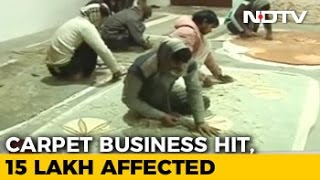 Download Cash Ban Impact On India's Carpet Hub Video