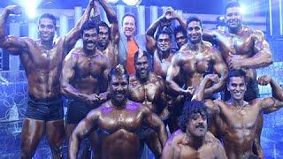 Download Arnold Schwarzenegger to Appreciate Bodybuilders At ″I″ Audio Launch (Telugu) Video