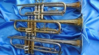 Download Review: 3 Quality (but Underpriced) Vintage Trumpets Video