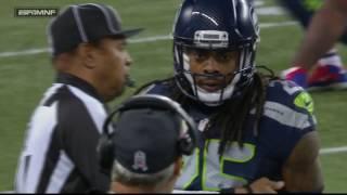 Download Richard Sherman Picks Off Tyrod Taylor, Mean Mugs an Angry Rex Ryan | Bills vs. Seahawks | NFL Video
