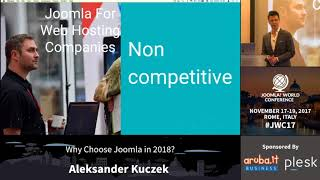 Download JWC 2017 - Why choose Joomla in 2018? - Aleksander Kuczek Video