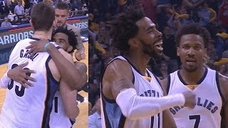 Download Marc Gasol Game Winner in Overtime! Clutch Tug of War! Spurs Grizzlies Game 4 Video