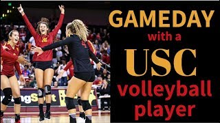 Download A DAY IN THE LIFE: USC VOLLEYBALL GAMEDAY Video