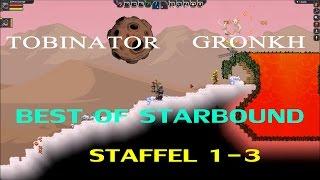 Download Best Of Gronkh & Tobinator | Starbound Staffel 1-3 | [1080p60] Video