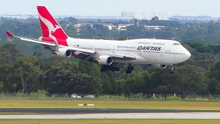 Download WOBBLY APPROACH | Boeing 747 vs. Strong 35kt Headwinds | Melbourne Airport Plane Spotting Video