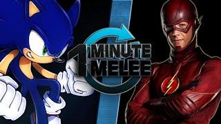 Download One Minute Melee - Sonic the Hedgehog vs The Flash (SEGA vs DC Comics) Video