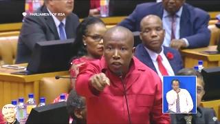 Download Julius Malema And EFF Disrupt SONA 2017 Video