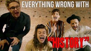 Download Everything Wrong With One Direction - ″History″ Video