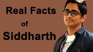Download Shocking Facts About Siddharth Video