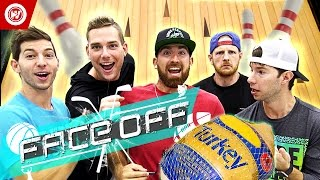 Download Dude Perfect Thanksgiving Turkey Bowling | FACE OFF Video