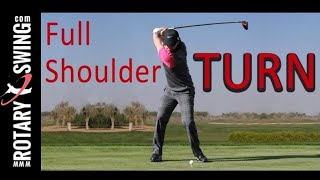 Download EVERYONE can make a FULL SHOULDER TURN in golf! Video