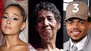 Download Ariana Grande, Chance the Rapper & More Celebs REACT to Aretha Franklin's Death Video