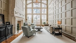 Download Custom Built French Manor Home in Acworth, Georgia Video