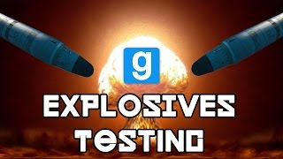 Download BOMBS AWAY | Gmod Explosives Testing | Epic EXPLOSIONS!!! Video