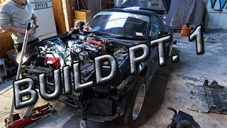Download FD RX7 Build part 1 - Getting ready to pull the engine out Video