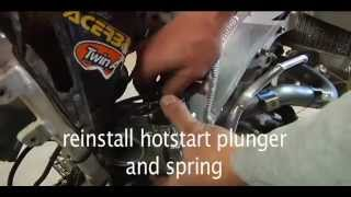 Download How to remove and reinstall a CRF carb (and most modern 4 stroke MX carbs) Video