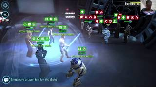 Download Star Wars Galaxy of Heroes: Clearing Rebels Tier III Basic Training Event Video