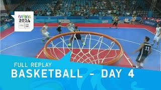 Download Basketball - Day 4 | Full Replay | Nanjing 2014 Youth Olympic Games Video