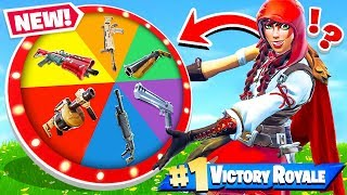 Download WHEEL of WEAPONS *NEW* Game Mode in Fortnite Battle Royale Video
