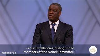 Download Denis Mukwege: Nobel Peace Prize lecture 2018 (English subtitles) Video