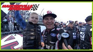 Download Bowyer shares Victory Lane experience with son Cash Video