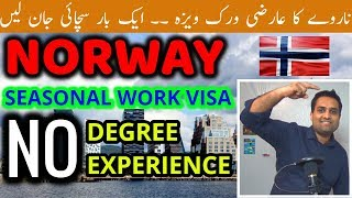 Download NORWAY Seasonal Work Visa Without Agent Video