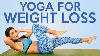 Download Sanela's Yoga for Weight Loss & Flexibility! 20 Minute Beginners to Intermediate Workout Video