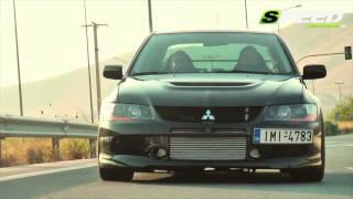 Download Mitsubishi Lancer Evo IX MR 870+Ps@11.000rpm (Boost 14psi) Video