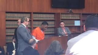Download Man gives warning to gang members at murder sentencing Video