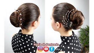 Download Penteado rápido com coque💖 Video