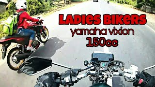 Download Nggak sengaja Riding bareng - sicantik merah yamaha vixion dengan velg jari-jari Wow..   Bocah Rx#8 Video
