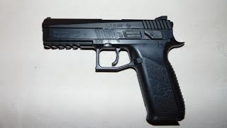 Download CZ P-09 Duty CO2 Pistole - Review und Schusstest Video
