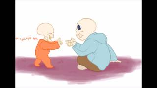 Download papyrus playing with sans  baby bones dub Video