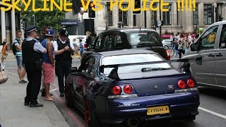 Download Loudest Skyline On Earth ! Picadilly Arab Boy Racers VS Police, HUGE Flames, Anti Lag & Acceleration Video
