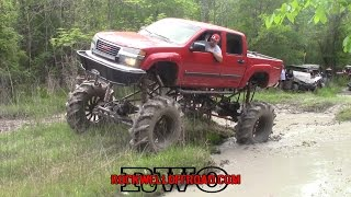 Download TRAIL RIDING WITH THE BEST MUD TRUCKS!!! Video