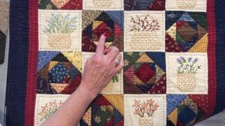 Download Quilting Question: What is a ″Double Square in a Square?″ Video