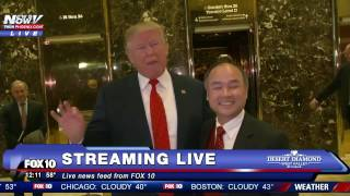 Download WATCH: Donald Trump Meets With SoftBank Chairman Masayoshi Son - FNN Video
