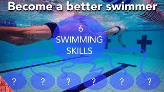Download SwImming skills. 6 Hacks for a long successful swim career. How to swim faster. Video