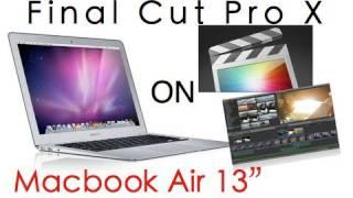 Download Macbook Air 13″ 2010: Final Cut Pro X Import/Export Test Video