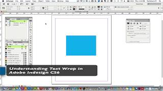 Download Adobe Indesign Tutorial - Understanding How To Wrap Text Around Objects Video