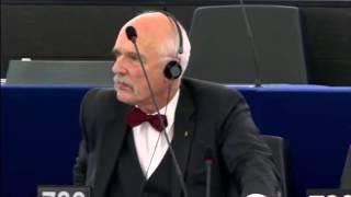 Download Janusz Korwin-Mikke: Unijna polityka planowania rodziny Video