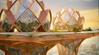 Download City in the Sky - concept architecture Video