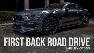 Download Ford Shelby GT350 Driving Series: First Backroad Drive Video