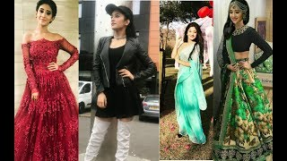 Download Naira (Shivangi Joshi - indian TV actress) unseen photos with stylish dresses Video