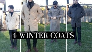 Download 4 Winter Coats | 4 Must Have Winter Coats | Mens Winter Fashion Video