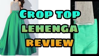 Download Cheapest crop top lehenga review from Amazon/only for₹349😲😲 Video