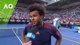 Download Jo-Wilfried Tsonga on court interview (4R) | Australian Open 2017 Video